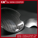 for for Mini Cooper Carbon Insert Door handle Cover
