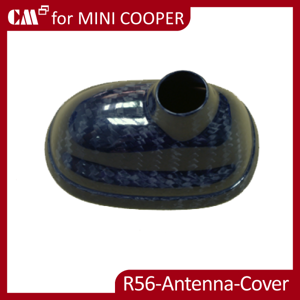 for Mini Cooper R55 R56 R57 Carbon Roof Antenna Cover